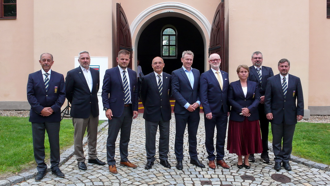 Nově zvolený výbor ČGF