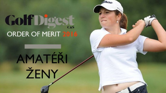 GD ORDER OF MERIT 2016 – AMATÉŘI ŽENY