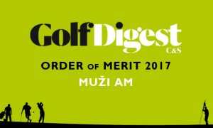 GOLF DIGEST ORDER OF MERIT 2017 – MUŽI AM (k 30.6.2017)