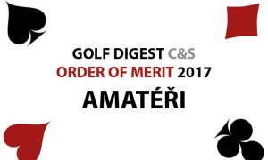 GOLF DIGEST C&S ORDER OF MERIT 2017 – AMATÉŘI (k 31.12.2017)