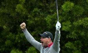VIDEO: Sabbatini trefil na U.S. Open první hole-in-one