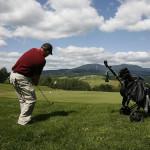 Jak hraje průměrný golfista