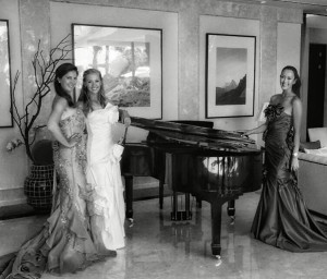 Sandra-Gal-Jessica-Korda-Michelle-Wie-in-gowns (1)