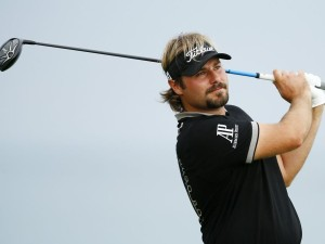 SHEBOYGAN, WI - AUGUST 14: Victor Dubuisson of France plays his shot from the 16th tee during the second round of the 2015 PGA Championship at Whistling Straits on August 14, 2015 in Sheboygan, Wisconsin.   Scott Halleran, Image: 255595186, License: Rights-managed, Restrictions: , Model Release: no, Credit line: Profimedia, AFP