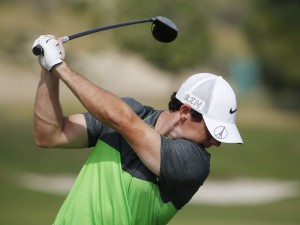 Shutterstock (5387045a) Rory McIlroy warming up on the range on the 3rd day DP World Tour Championship, Dubai, Jumeirah Golf Estates, Dubai, United Arab Emirates - 21 Nov 2015, Image: 267368842, License: Rights-managed, Restrictions: , Model Release: no, Credit line: Profimedia, TEMP Rex Features