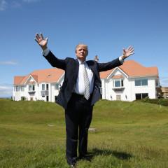 Trump a zlatý driver? Hurá na hřiště