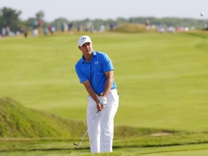 SHEBOYGAN, WI - AUGUST 13: Jordan Spieth of the United States in action during the first round of the 2015 PGA Championship at Whistling Straits on August 13, 2015 in Sheboygan, Wisconsin. Kevin C. Cox, Image: 255511895, License: Rights-managed, Restrictions: , Model Release: no, Credit line: Profimedia, AFP