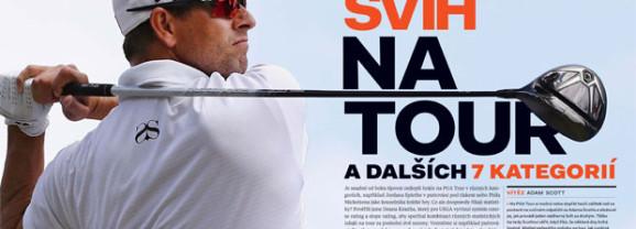 KDO má nejlepší švih na PGA TOUR a v dalších 7 kategoriích
