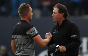 Phil Mickelson a Henrik Stenson - The Open 2016, Royal Troon