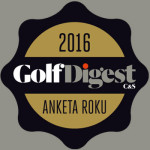 GOLF DIGEST ANKETA ROKU 2016