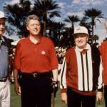 KDYSI DÁVNO, když BILL CLINTON potřeboval golfové útočiště, zamířil k TRUMPOVI