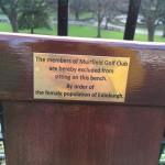 Dámská msta Muirfield Golf Clubu