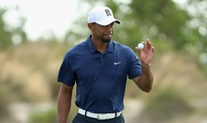 NASSAU, BAHAMAS - DECEMBER 02: Tiger Woods of the United States waves on the ninth green during round two of the Hero World Challenge at Albany, The Bahamas on December 2, 2016 in Nassau, Bahamas. Christian Petersen, Image: 307347309, License: Rights-managed, Restrictions: , Model Release: no, Credit line: Profimedia, Getty images
