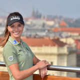 Anketu Golfista roku ovládla Klára Spilková. Zazpíval jí i Karel Gott