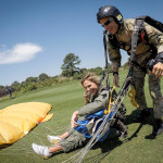 VIDEO: Lexi se snesla z nebes. Dopadla přímo na fairway