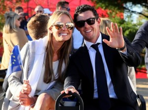 CHASKA, MN - SEPTEMBER 29: Erica Stoll and Rory McIlroy of Europe attend the 2016 Ryder Cup Opening Ceremony at Hazeltine National Golf Club on September 29, 2016 in Chaska, Minnesota. Andrew Redington, Image: 301448278, License: Rights-managed, Restrictions: , Model Release: no, Credit line: Profimedia, Getty images