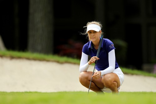 May 28, 2017 - Ann Arbor, Michigan, United States - Nelly Korda of Bradenton, Florida waits on the 6th green during the final round of the LPGA Volvik Championship at Travis Pointe Country Club, Ann Arbor, MI, USA Sunday, May 28, 2017., Image: 333899853, License: Rights-managed, Restrictions: * France Rights OUT *, Model Release: no, Credit line: Profimedia, Zuma Press - News