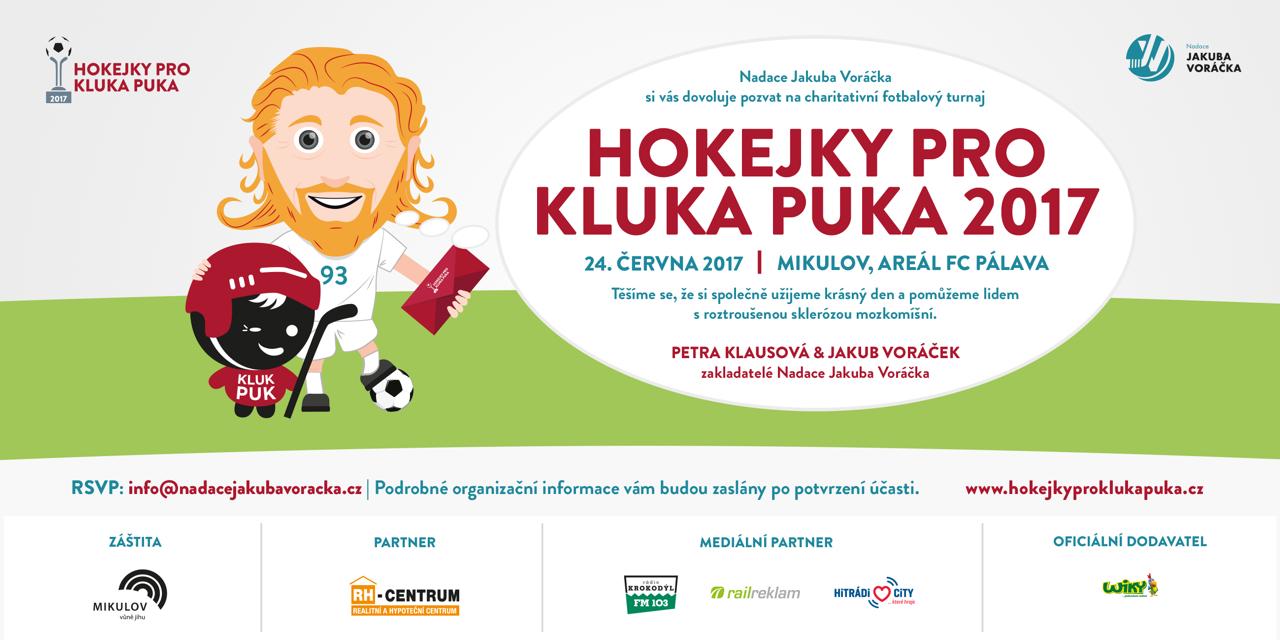 Hokejky pro Kluka Puka 2017_pozvanka