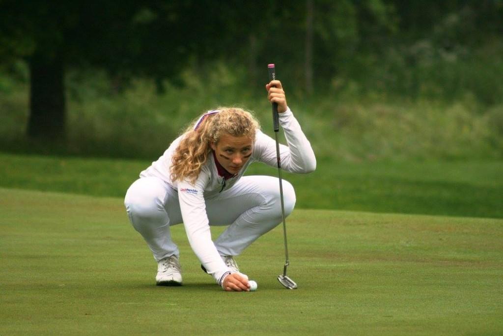 Sára Kousková na mistrovství Evropy družstev 2017