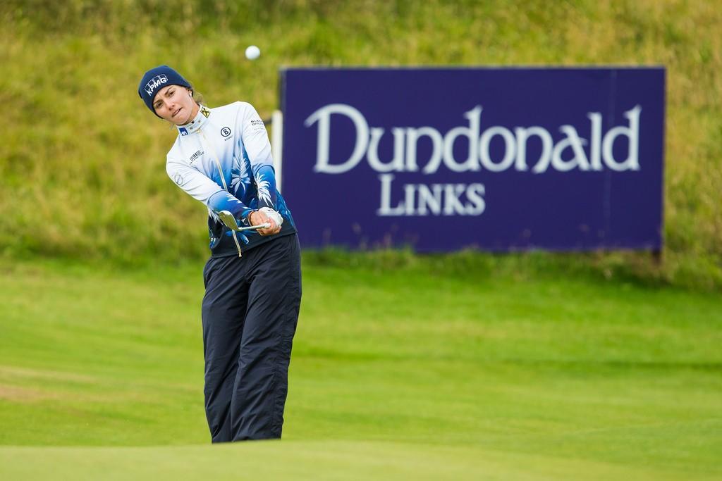 Klára Spilková na Aberdeen Asset Management Ladies Scottish Open