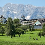 Vítejte na Golf Safari pod alpskými velikány