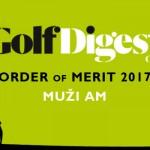 GOLF DIGEST ORDER OF MERIT 2017 – MUŽI AM (k 30.6.2017)