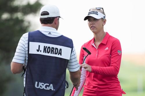 Jessica Korda v úvodním kole US Women's Open