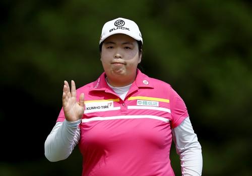 Shanshan Feng stále vede US Women's Open 2017