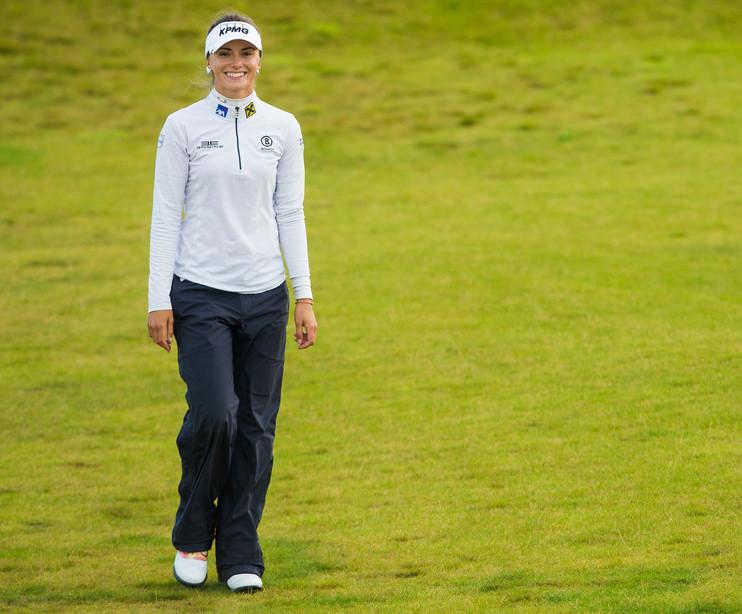 Klára Spilková se rozloučila s British Open kolem za 71 ran (Foto: LET)