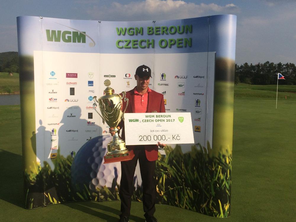 Petr Nič si nenechal titul z WGM Beroun Czech Open utéct a slaví i prémii ve výši 200 tisíc korun