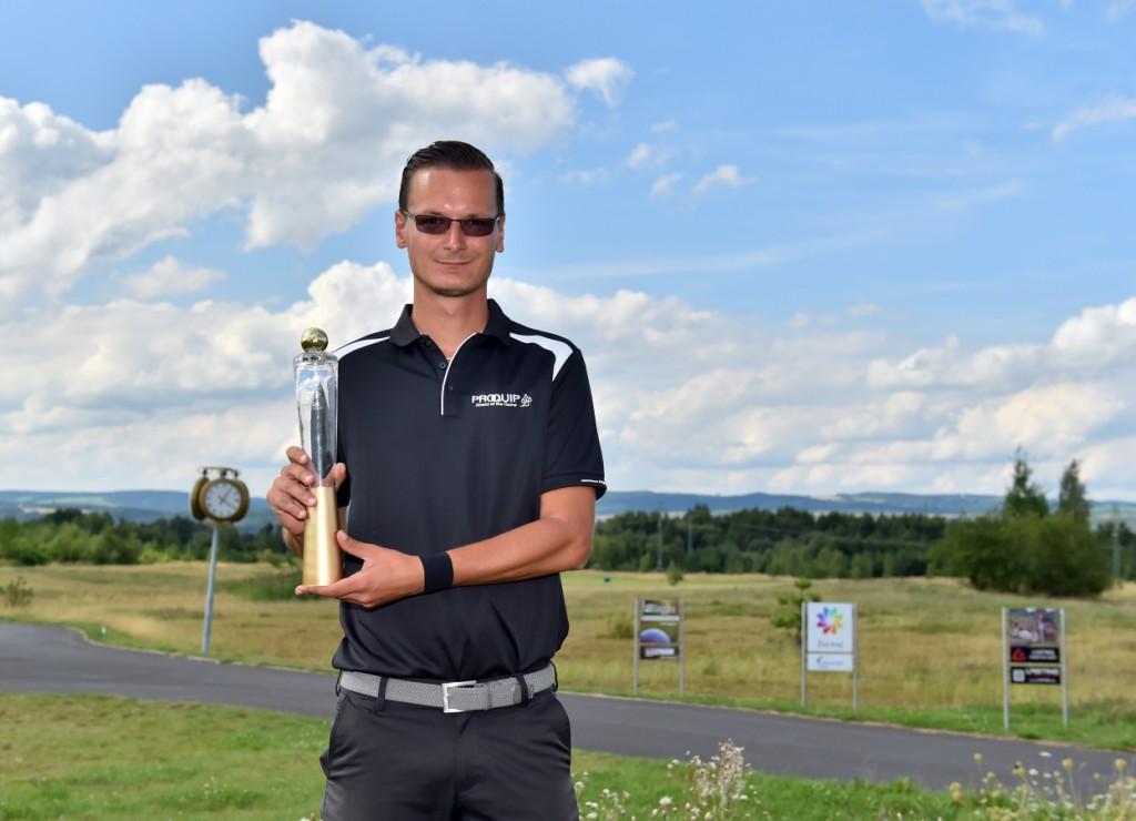 Ondřej Lieser vyhrál turnaj CzechOne Tour v Sokolově (Foto: Zdeněk Sluka)