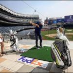 MCILROY odpaloval na stadionu Yankee's před Play-offs, KEDÍK zůstává