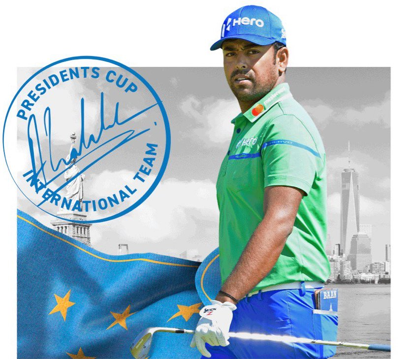 Anirban Lahiri bude hrát Presidents Cup (Foto: Twitter)
