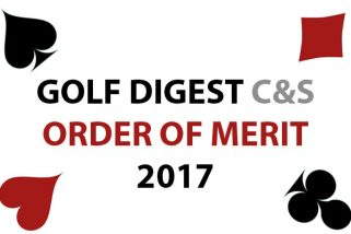 GOLF DIGEST C&S ORDER OF MERIT 2017