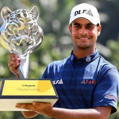 Nový indický tygr? SHARMA vyhrál v Malajsii druhý turnaj sezony ET