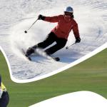 Jak si zpestřit zimu? Přihlaste se na SKI & GOLF